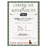 Rebel Cola #1 Collectible Pin | Star Wars - cert
