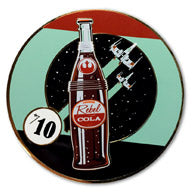 """Rebel Cola #1"" Collectible Pin"