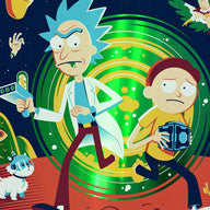 """Rick and Morty"" foil variant"