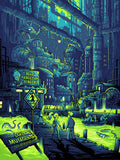 Futurama print - You Guys Realize You Live in a Sewer, Right? by Dan Mumford
