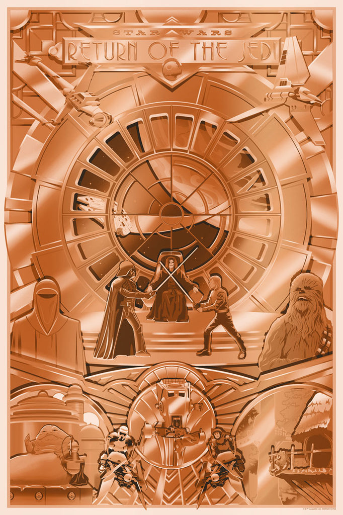Shiny Return by Steve Thomas | Star Wars SDCC2019 Release