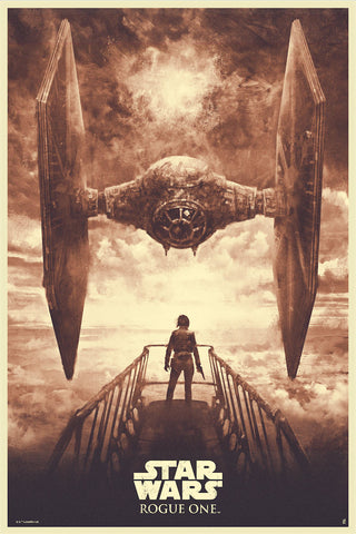 Showdown by Karl Fitzgerald | Rogue One: A Star Wars Story