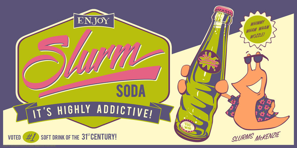 Slurm Soda by Steve Thomas