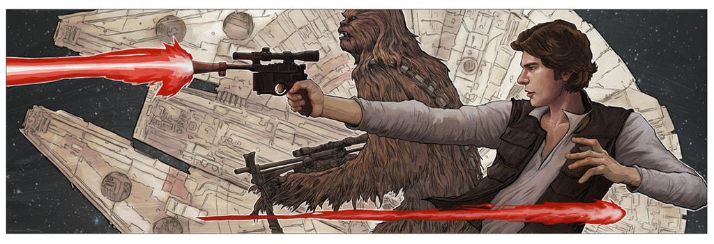 Smiles, Lies and Blasters by Brent Woodside | Star Wars