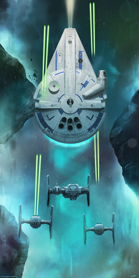 Solo Escape by Andy Fairhurst | Solo: A Star Wars Story SDCC 2018 Exclusive
