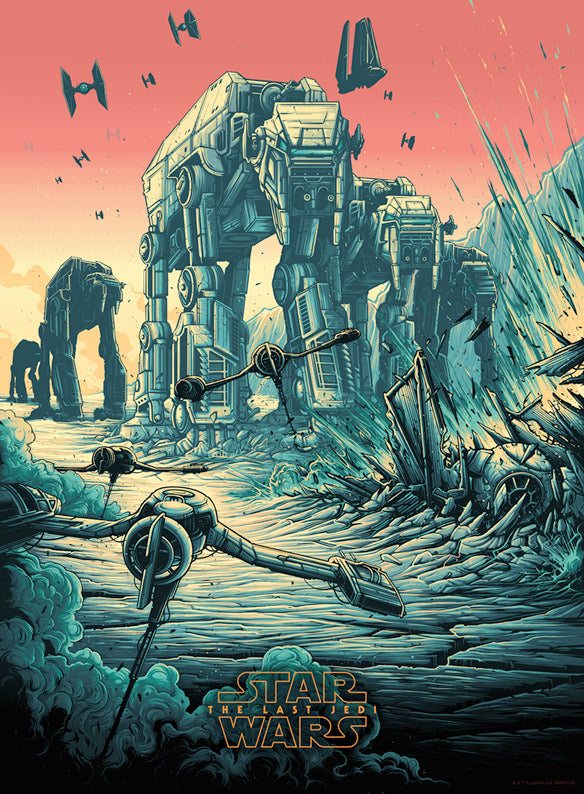 """The Spark That Will Light the Fire"" Variant by Dan Mumford 