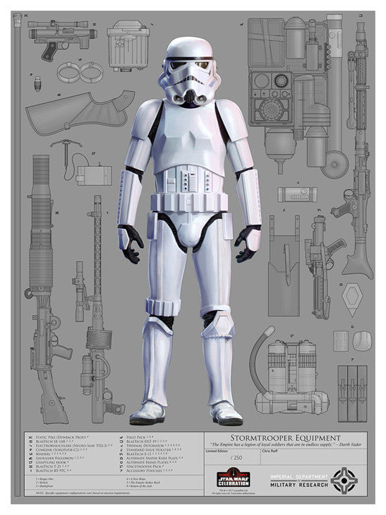 Stormtrooper Equipment by Chris Reiff | Star Wars Celebration Orlando