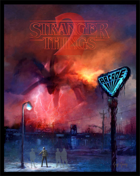 Stranger Things 2 by Cliff Cramp