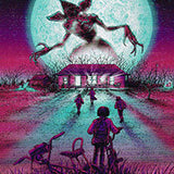 Stranger Things by Barry Blankenship - metal print