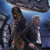 Han and Chewie by Erik Maell | Star Wars Celebration Orlando