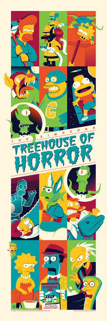 Treehouse of Horror (3) by Dave Perillo