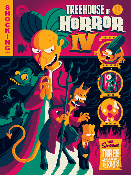 Treehouse of Horror IV variant by Tom Whalen