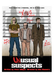 Unusual Suspects by J.J. Lendl | The X-Files print