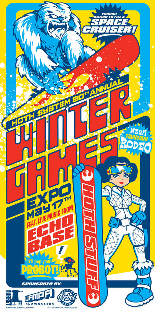 Hoth Winter Games by Mark Daniels