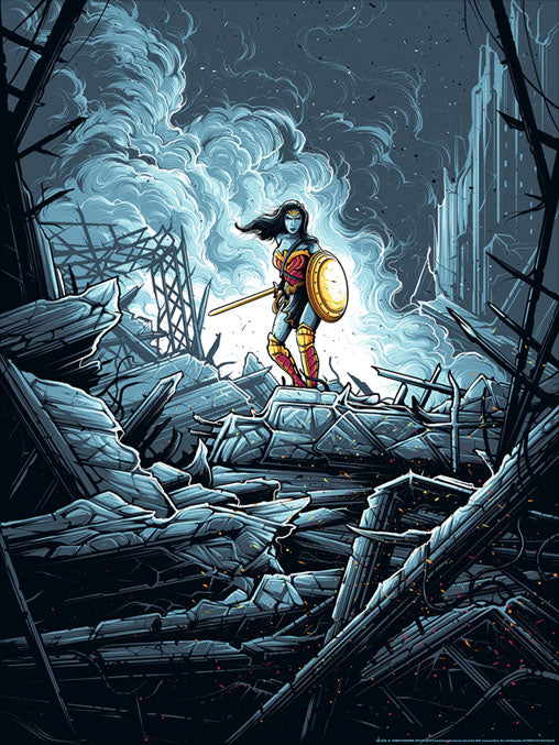 Wonder Woman Warrior variant by Dan Mumford | Batman vs. Superman