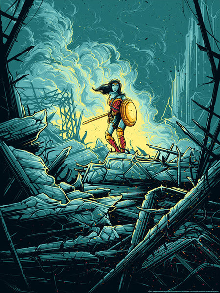 Wonder Woman Warrior by Dan Mumford