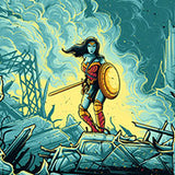 Wonder Woman Warrior by Dan Mumford | Batman vs. Superman