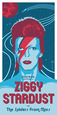 Ziggy Stardust by Brian Miller | David Bowie
