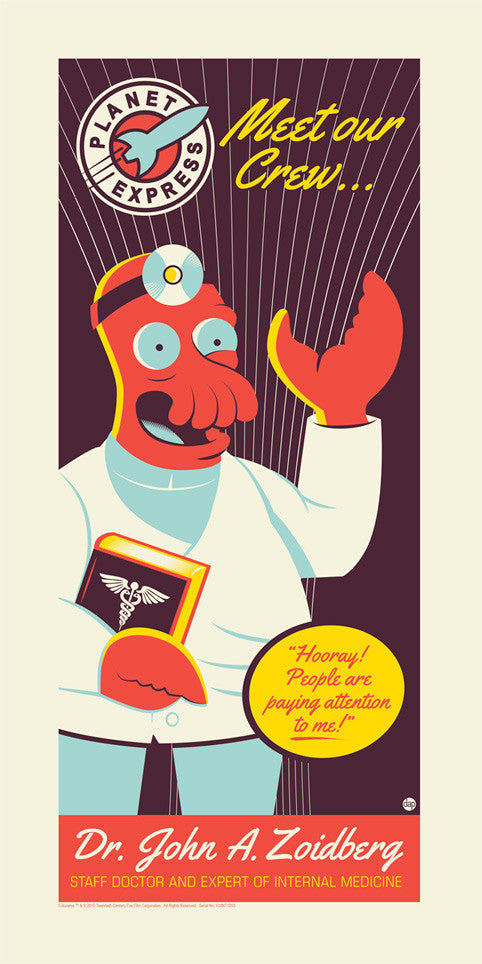 Zoidberg by Dave Perillo