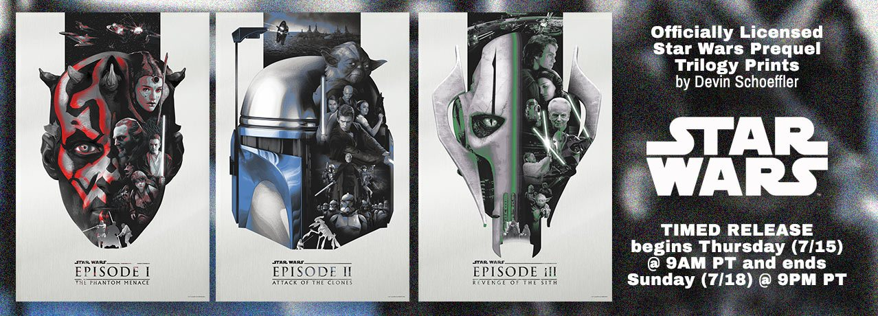 Star Wars Classic Trilogy by Guy Stauber