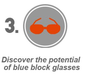 Discover the potential of blue blocking glasses