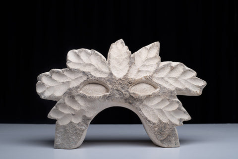 """Flora"" - Sculpted Limestone by Kim Bellette"