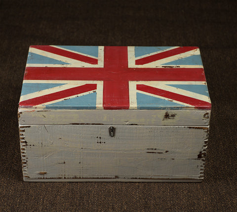 "#Sold ""Monograph Union Jack Box"" by Ian Henery"