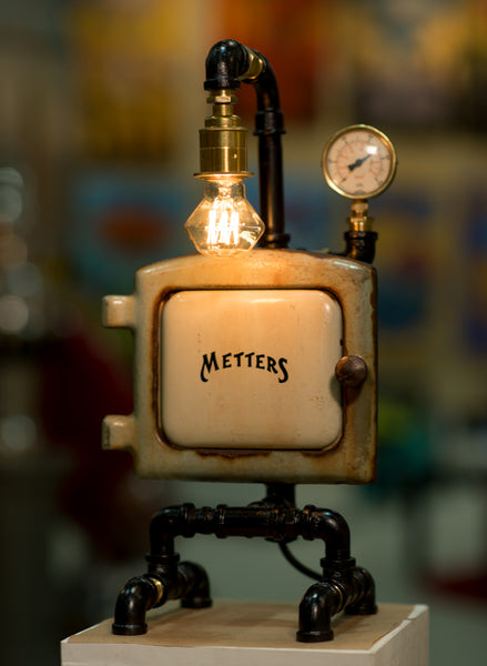 "#sold ""Metters Stove Pipe Lamp No.093"" by Rob Sanders - [Rare Items Collection]"