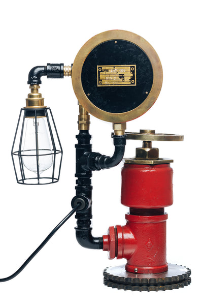"""Fire Hydrant Lamp No. 88"" By Rob Sanders [RARE ITEMS COLLECTION]"