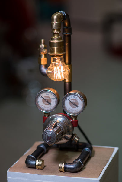 """Acetylene Pipe Lamp"" by Rob Sanders [Rare Collections]"