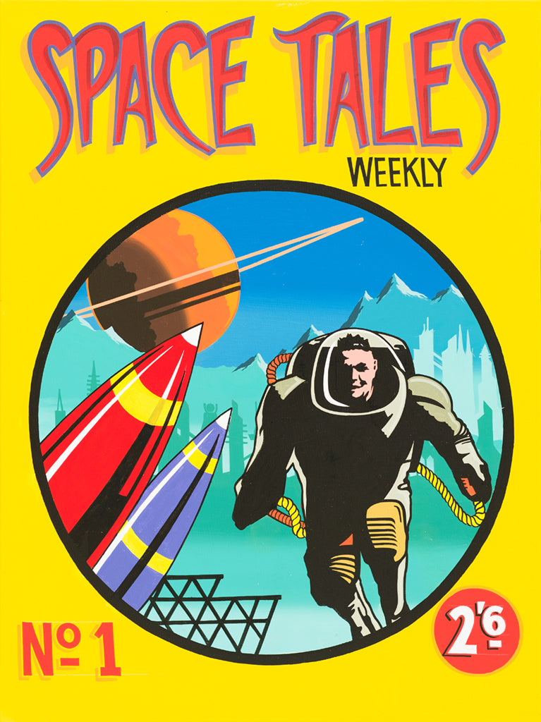 "#sold ""Space Tales No. 1"" by Graham Shaw"
