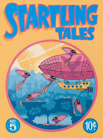 """Startling Tales No. 5"" by Graham Shaw"