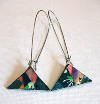 Drop Collage Earrings by Anthea Louise