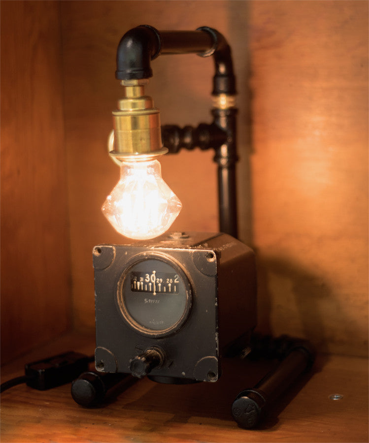 """Aviation Instrument"" Lamp by Rob Sanders"