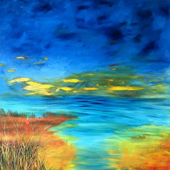 "#sold ""THE SPACE BETWEEN"" by Helene Hardy"