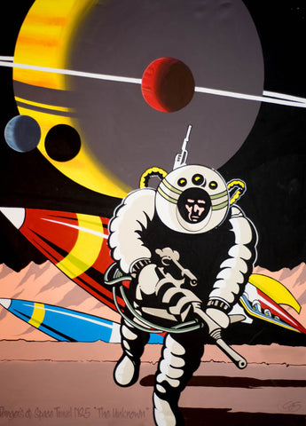 "#Sold ""Dangers of Space Travel No.5 ""The Unknown"""" by Graham Shaw"