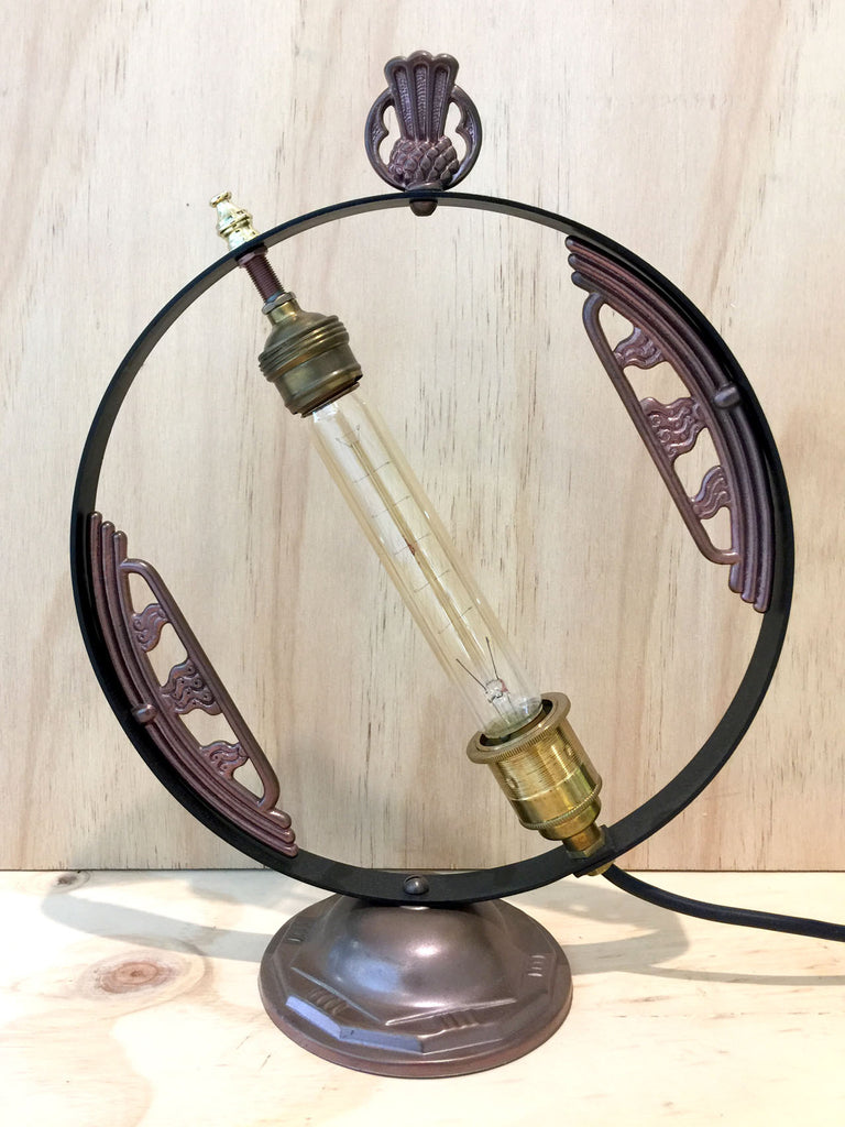 "#sold ""Art Deco Fireside Lamp"" by Rob Sanders"