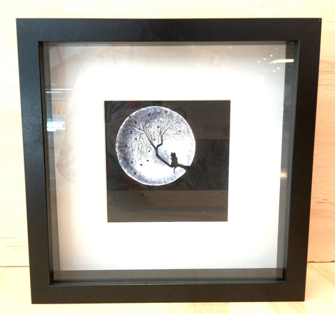 "#sold ""Dreaming of Love Moon"" Art Print of Original Artwork by Christine Sinclair"