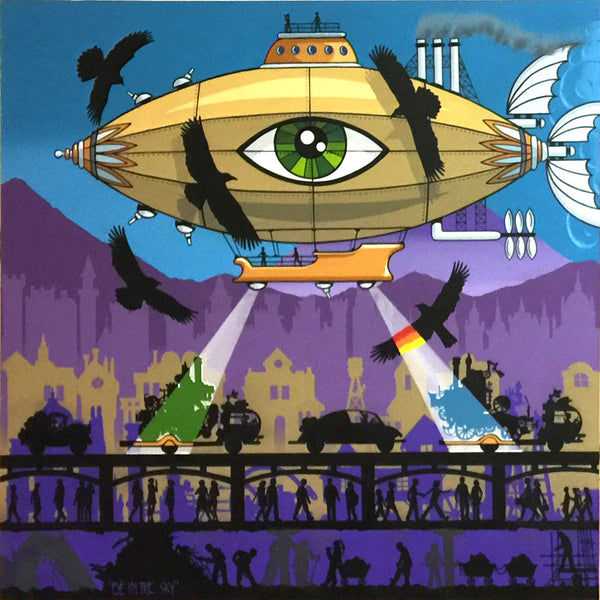 "#sold ""Eye in the Sky"" (Dyptich) by Graham Shaw"