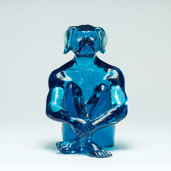 """Mini Lolly Dogman"" by Gillie and Marc [Blue]"