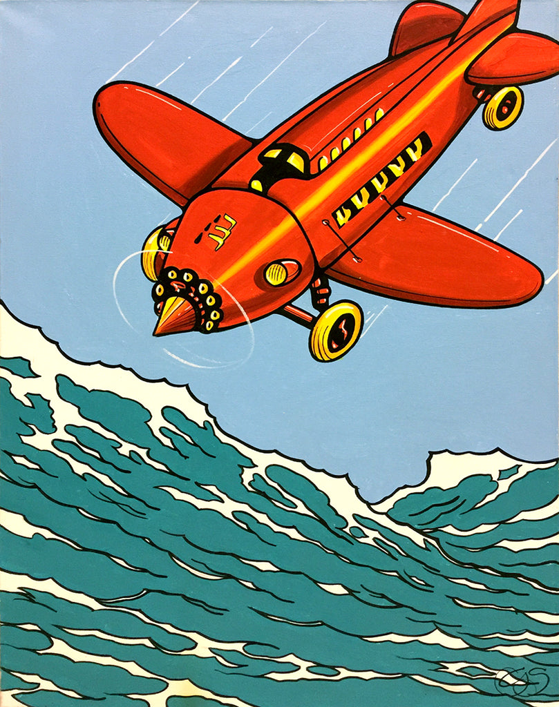 "#sold ""Red Baron"" by Graham Shaw"