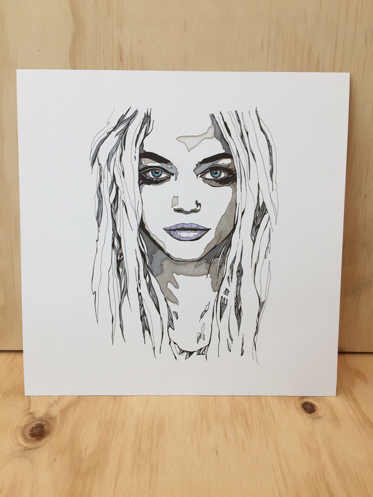"""Eliza"" Art Card by Mandi Glynn-Jones"