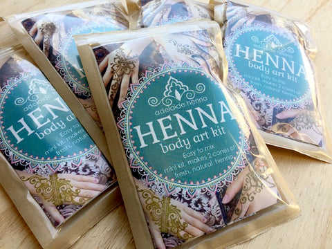 """Henna Body Art Kit (2 cones)"" by Linda Bell"