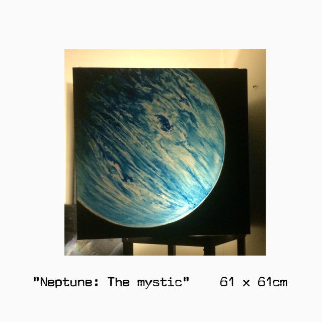 """Neptune the mystic"" by Paul Brullo"