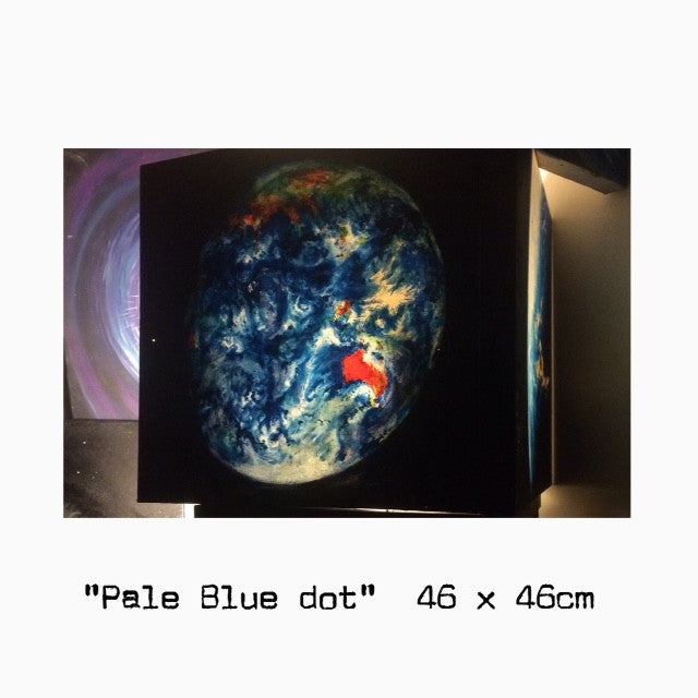 """Pale Blue Dot"" by Paul Brullo"