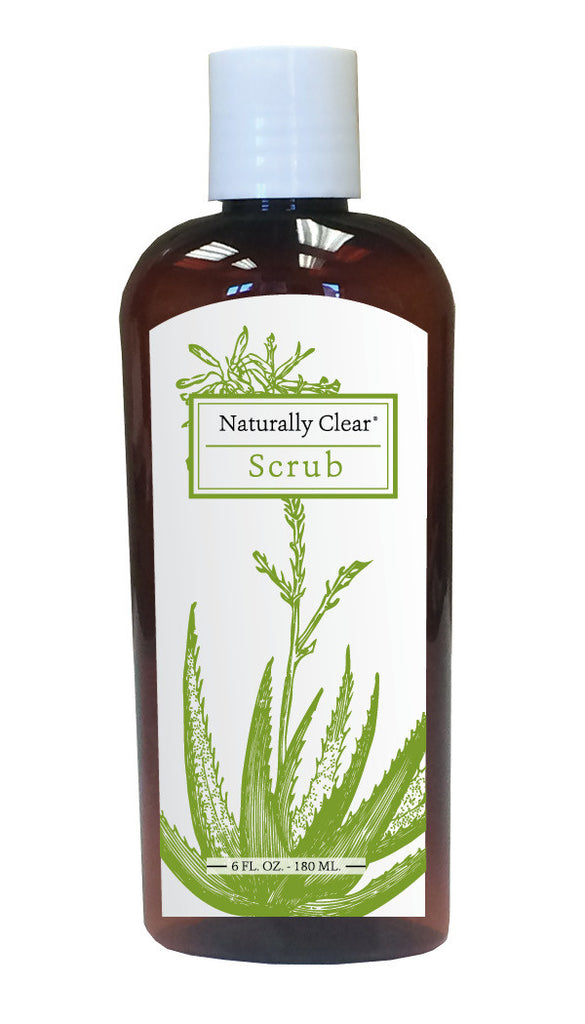 Naturally Clear Facial Scrub