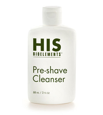 Pre-shave Cleanser