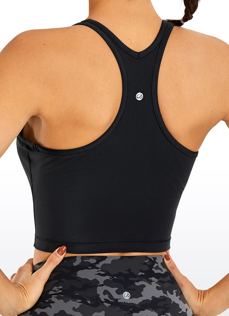 Free Feeling Longline Sports Bra Racerback Wireless