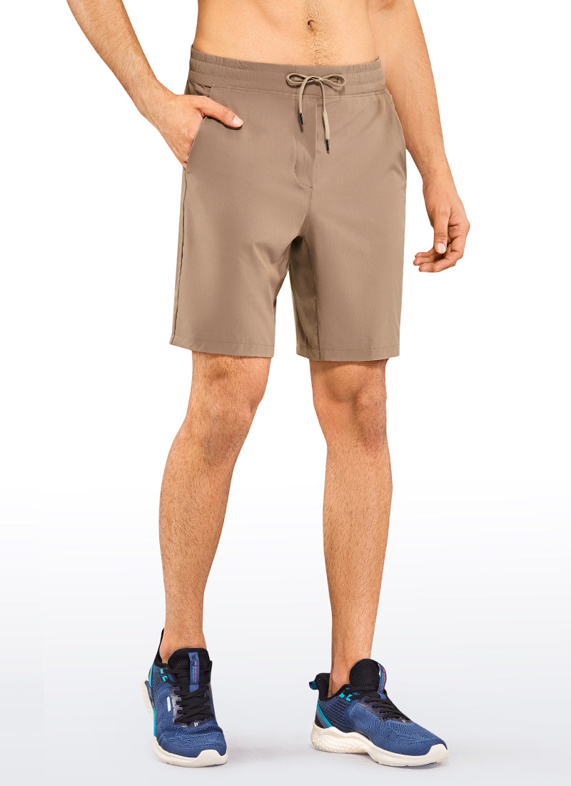 Men's Quick Dry Athletic Shorts with Pockets 9''