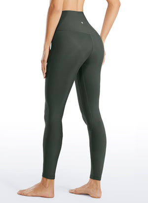 Thermal Fleece Lined Legging 28'' - Seamless Waistband